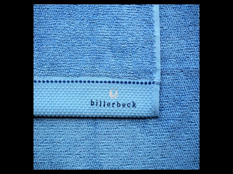 Billerbeck ATLANTISZ kék törölköző