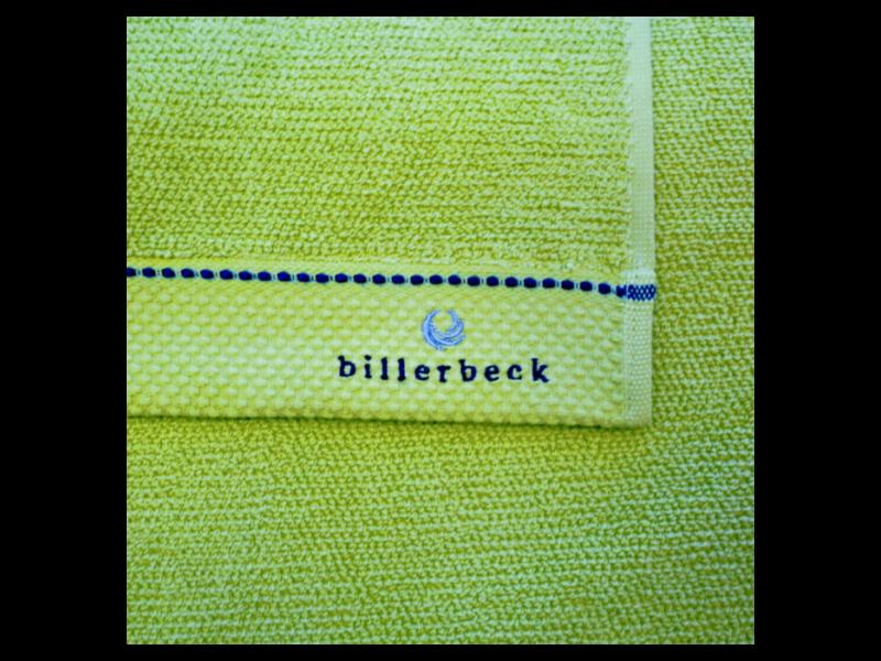 Billerbeck LIMETTA zöld törölköző