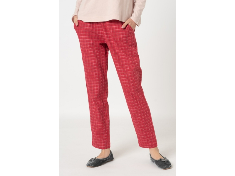 Triumph Mix & Match Tapered Trousers Flannel Pizsama Nadrág